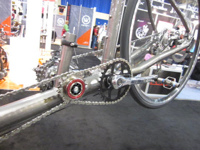 Da Vinci drivetrain, stoker close-up