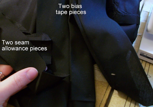 Make it Modest-Slit to a Box Pleat Tutorial