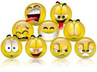 FARE GLI SMILE CON LINGUA - LINGUACCIA - LACRIMA - OCCHIALI - BACIO