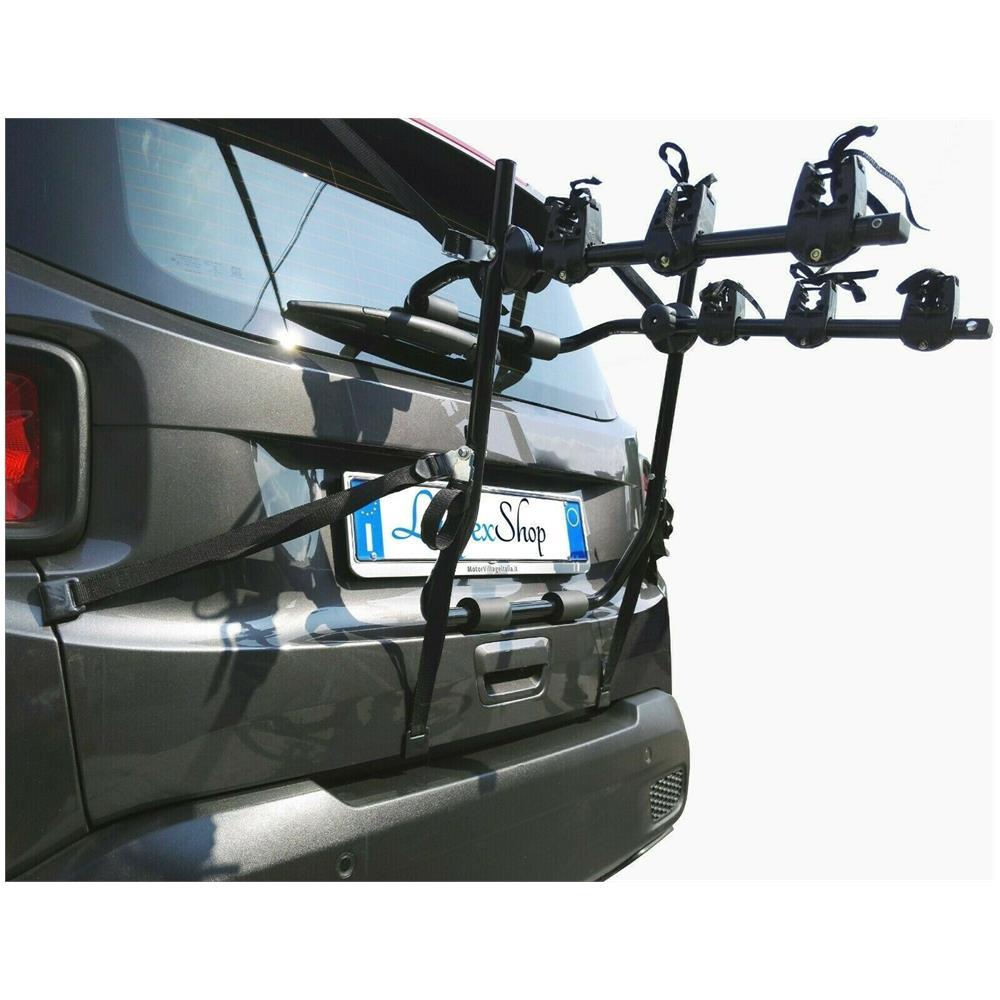 Lupex Shop - Portabici Universale Sportello Posteriore Da Auto Per ...