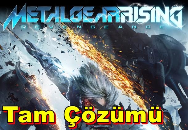 Metal Gear Rising: Revengeance Tam Çözümü
