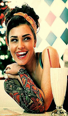 girls with big tattoos yay or nay
