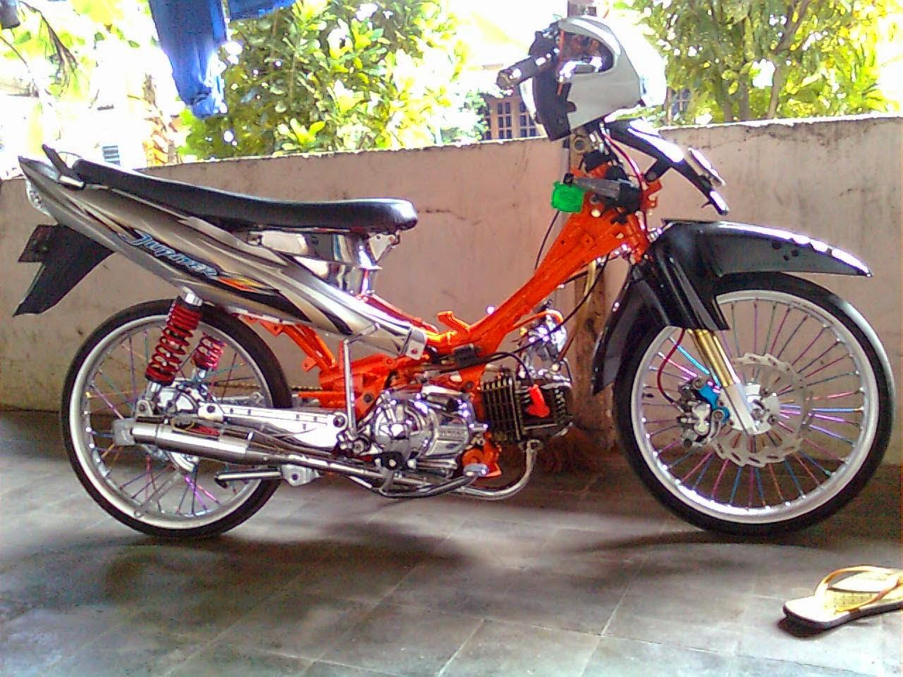 modifikasi yamaha jupiter z 2011