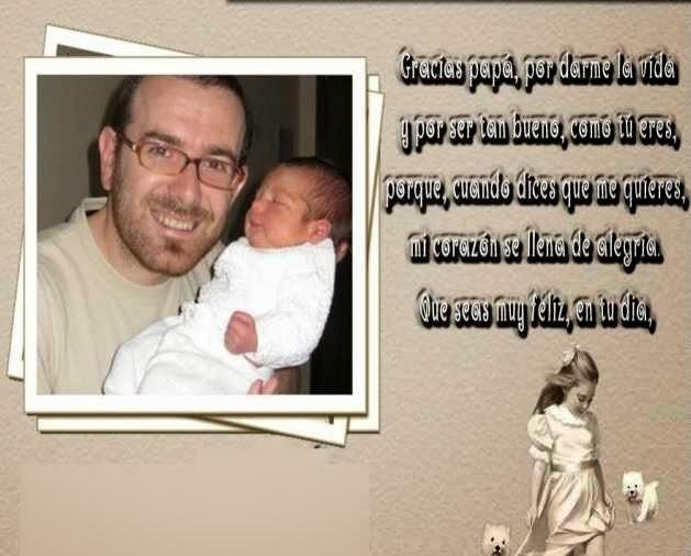 hermosas dedicatorias para 1 padre por su santo