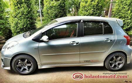 Modifikasi Toyota Yaris S Limited A T Trd Sportivo Medium Silver