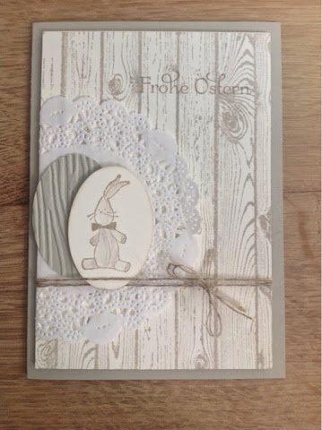 Stampin up Holz