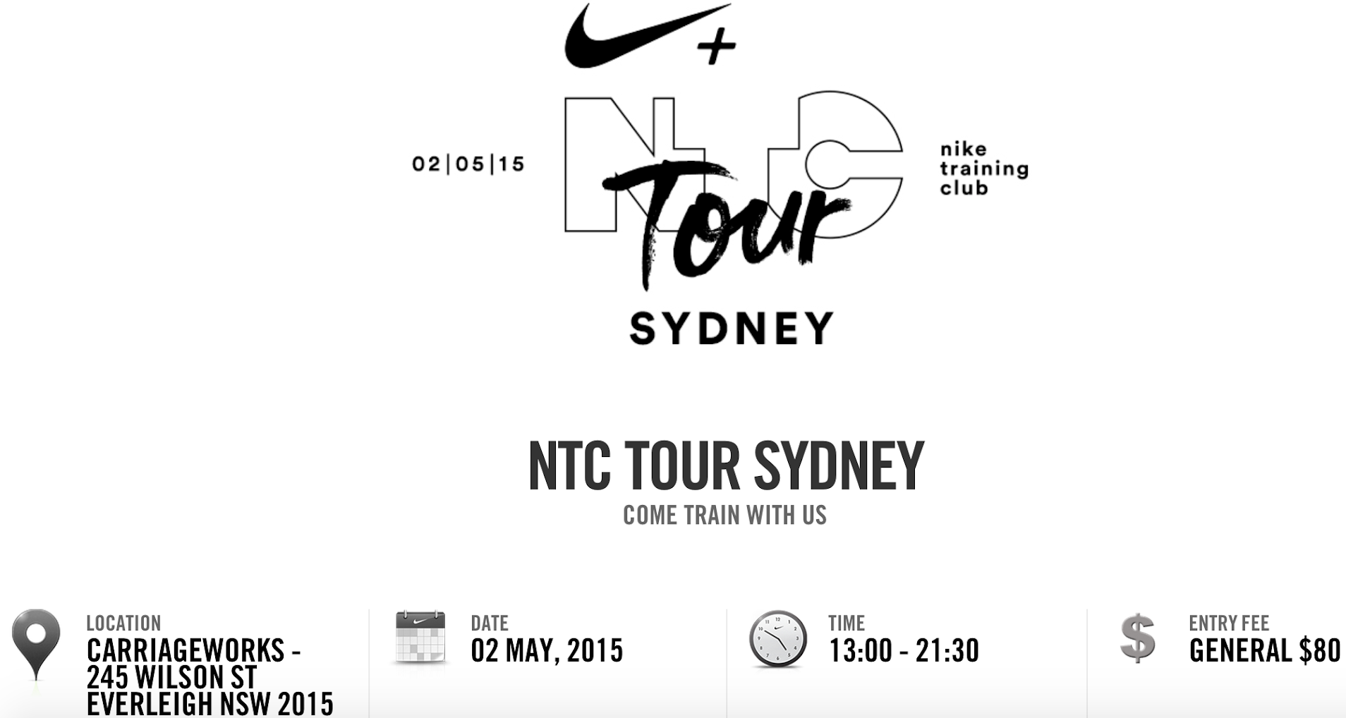 NTC Tour Sydney