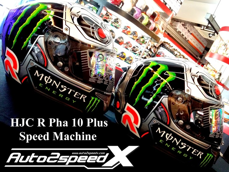 หมวกกันน็อค HJC RPHA10 Plus SpeedMachine Limited HELMET