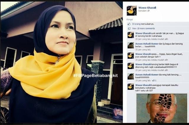 Awek Bertudung Yang Memalukan Pdrm Najibrazak Khairykj Belia Bangkit