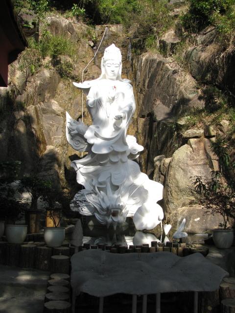 buddha on a dragon