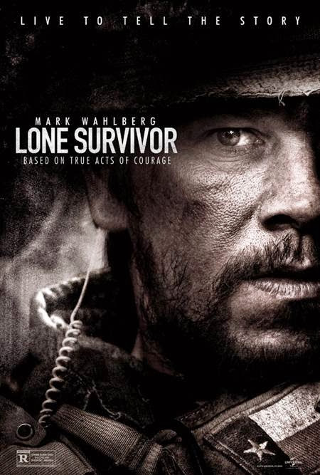 Lone Survivor promo art with Mark Wahlberg