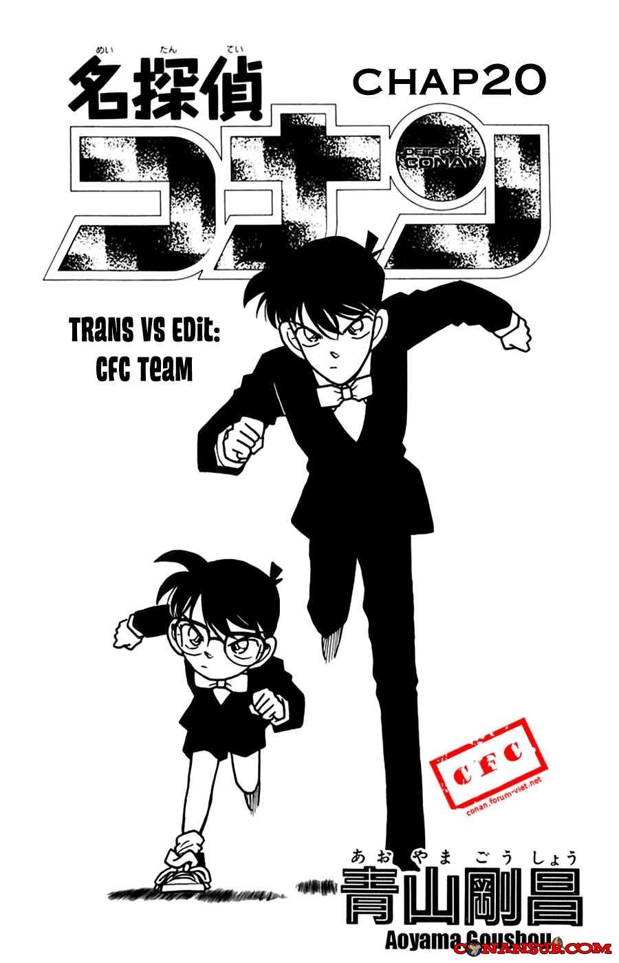 cn 001, Thám tử lừng danh Conan chap 20    NarutoSub