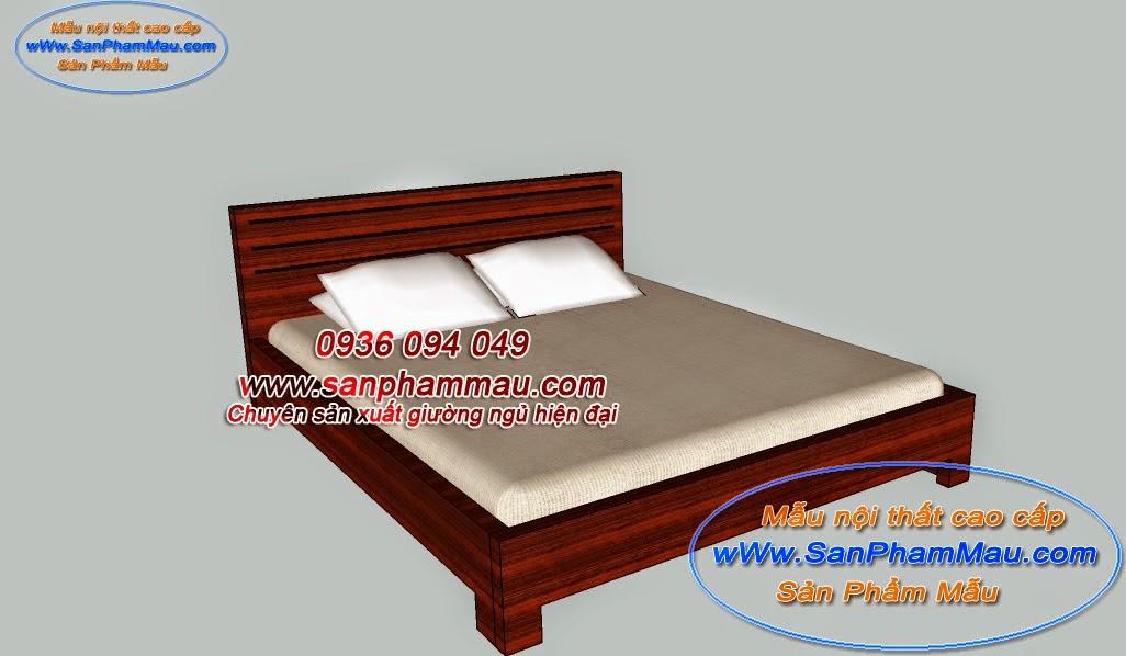 Giường ngủ MDF