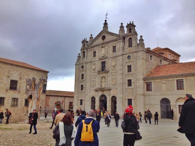 Iglesia de Santa Teresa- Qué ver en Ávila en un día