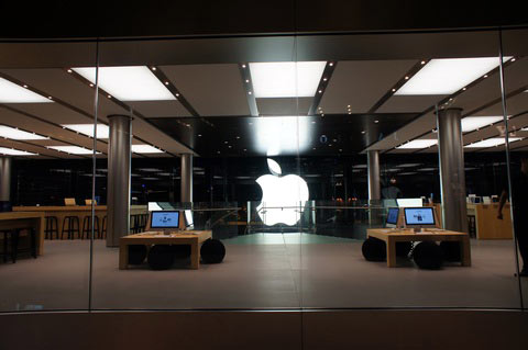 Apple Store, ifc mall, hk