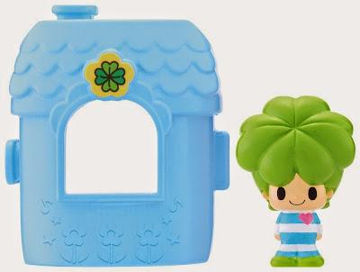 Đồ chơi Koeda-chan KF-04 Ngôi nhà mini của Yotsubakun màu xanh nước biển cùng chủ nhân