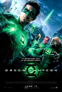 Green Lantern 3D Movie Poster