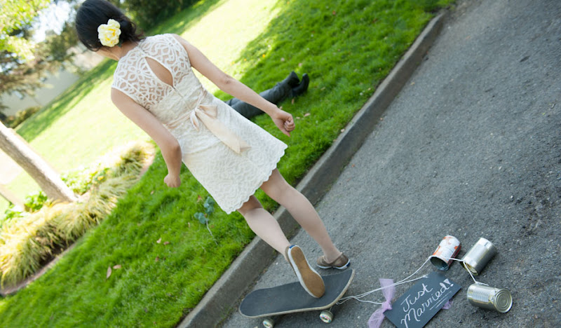 Elope Dress Skate Board