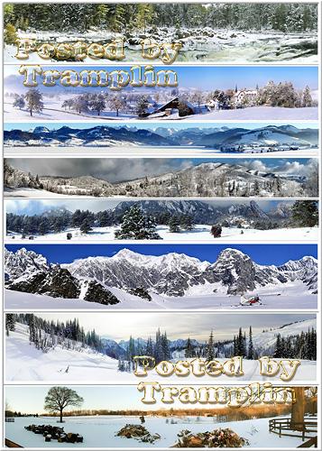 Зимние панорамные фото – Время для снежного проекта
