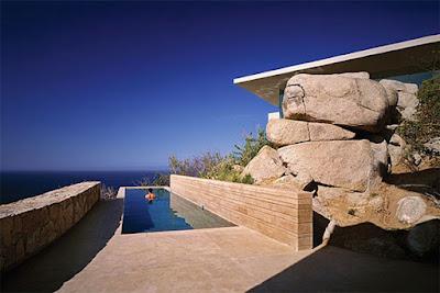 Casa Finisterra 4 Rumah Minimalis Indah Di Tebing Batu