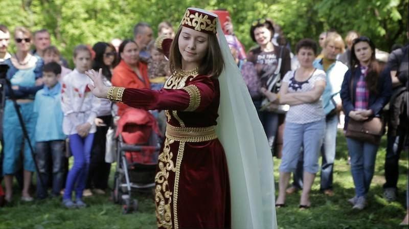 В Киеве крымские татары собрались на национальный праздник Хыдырлез +фото/видео
