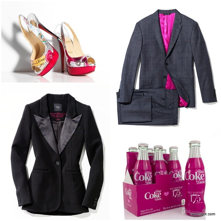 Christian Louboutin - Lady Peep Platform Trash Pump, Paul Smith Suit, Smythe Tuxedo Blazer