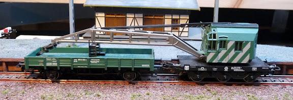 Märklin 4611: kraanwagen