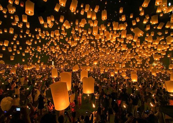 Fiesta de la luna llena (Tailandia)