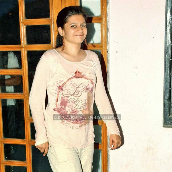 Pooja during the Lucknow Theatre Festival which was organised in the city from July 17.