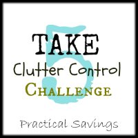 Take 5 Clutter Control Challenge Day 3 Update