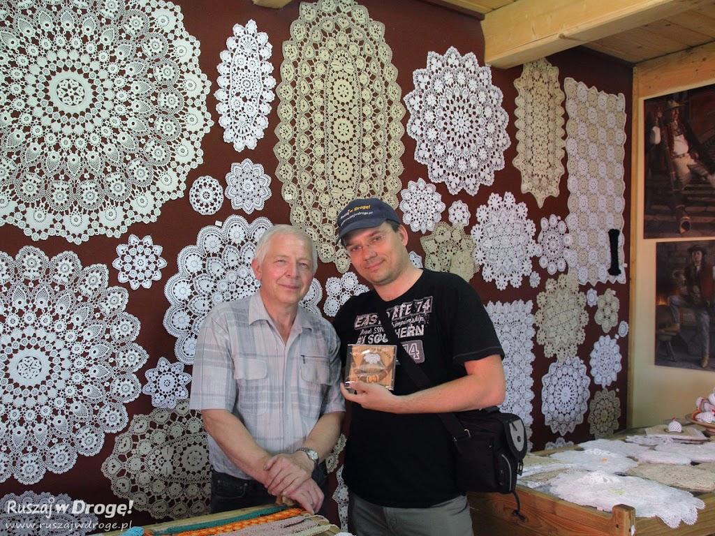 Z Tadeuszem Ruckim w Chacie na Szańcach