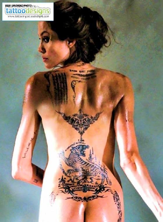 Angelina Jolie Tatoos Tatoo Pictures Ideas