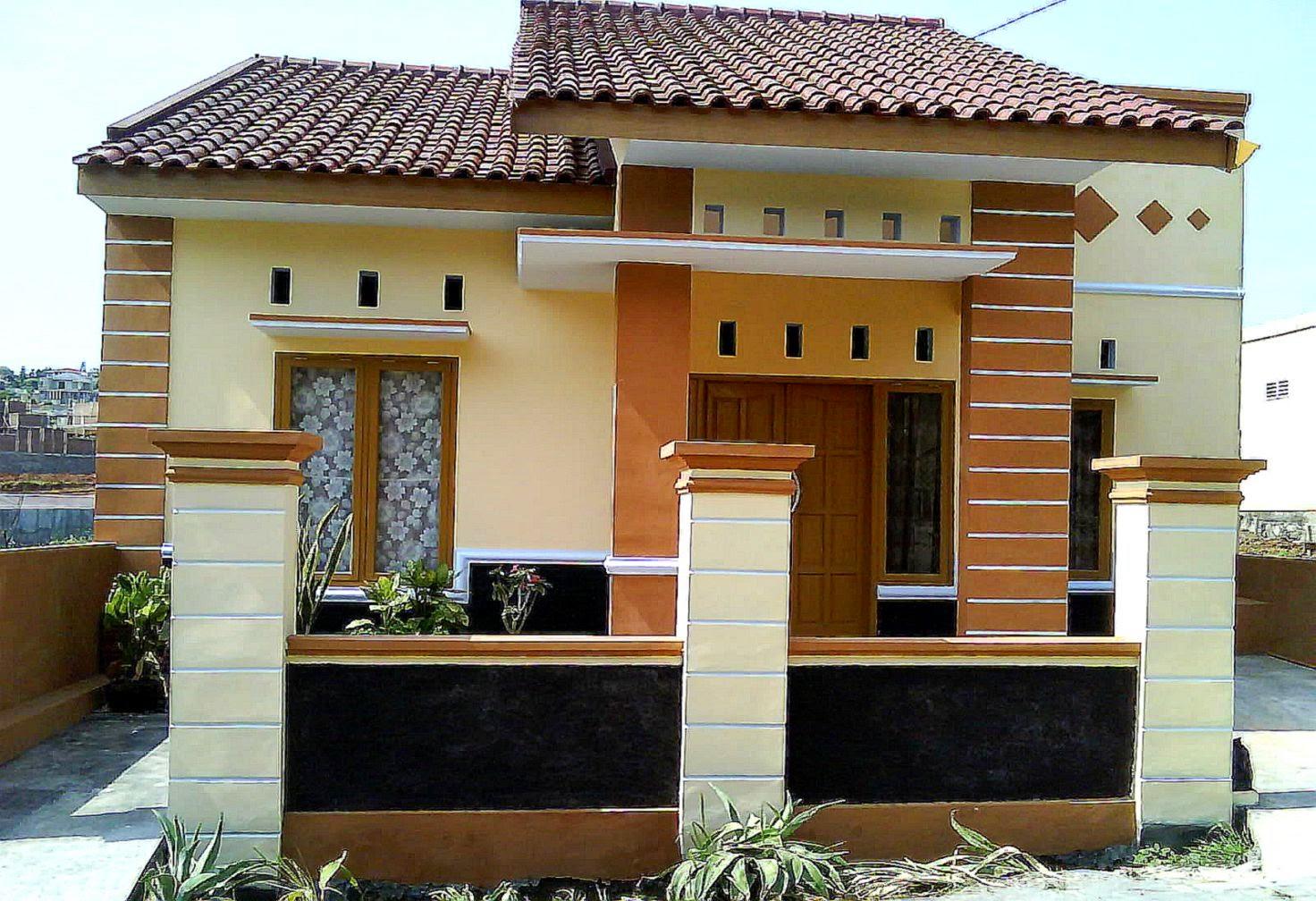 Desain Rumah Minimalis 1 Lantai Mewah Gambar Foto Desain 14 Gambar