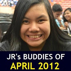 JR's Buddies of April 2012