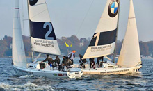 J/80 sailboats- match racing in Berlin, Germany