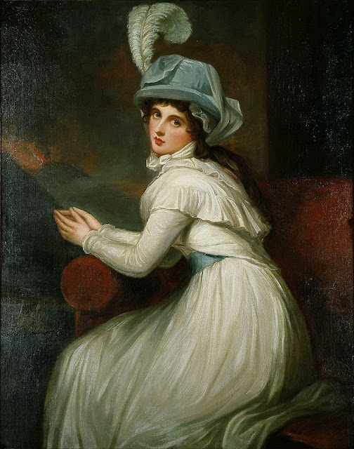 George Romney - Lady Hamilton as Ambassadress