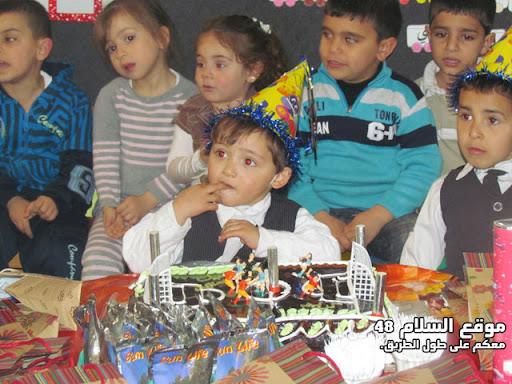 انا اسمي كريم رائد مصاروه من باقة الغربية اتعلم في روضة عدن اليوم عيد ميلادي الرابع اترككم مع الصور  IMG_5261