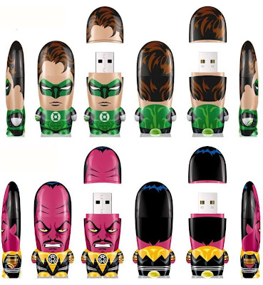 DC Comics x Mimobot Green Lantern USB Flash Drive Collection - Green Lantern Hal Jordan & Sinestro