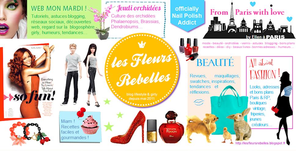 Les Fleurs Rebelles | Blog Lifestyle
