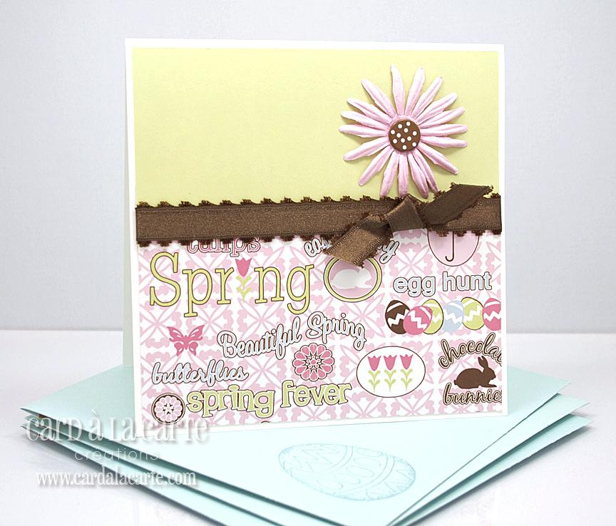 card à la carte are you ready 4 spring card