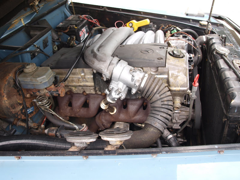 OM606 with Variable length intake manifold - Club G-Wagen Forum