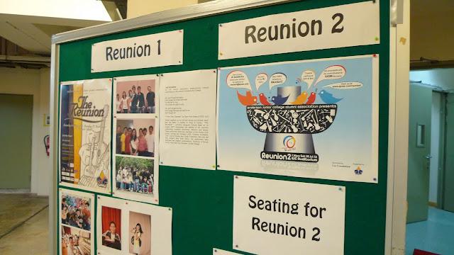 When Reunion 1 met Reunion 2