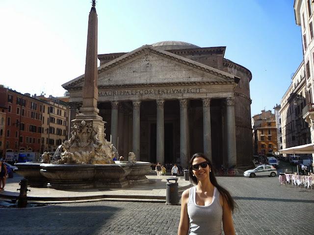 Carol em Roma