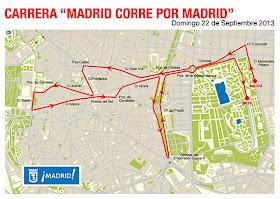 Cortes de tráfico por la carrera 'Madrid corre por Madrid'