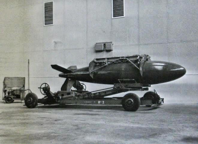 Mk7 US-amerikanische Atombombe für Canberra Bi8