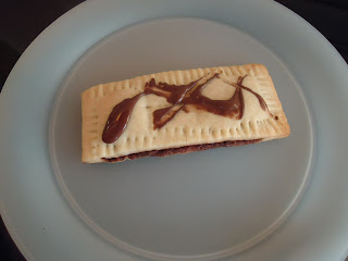 The finished Home Made Pop Tart
