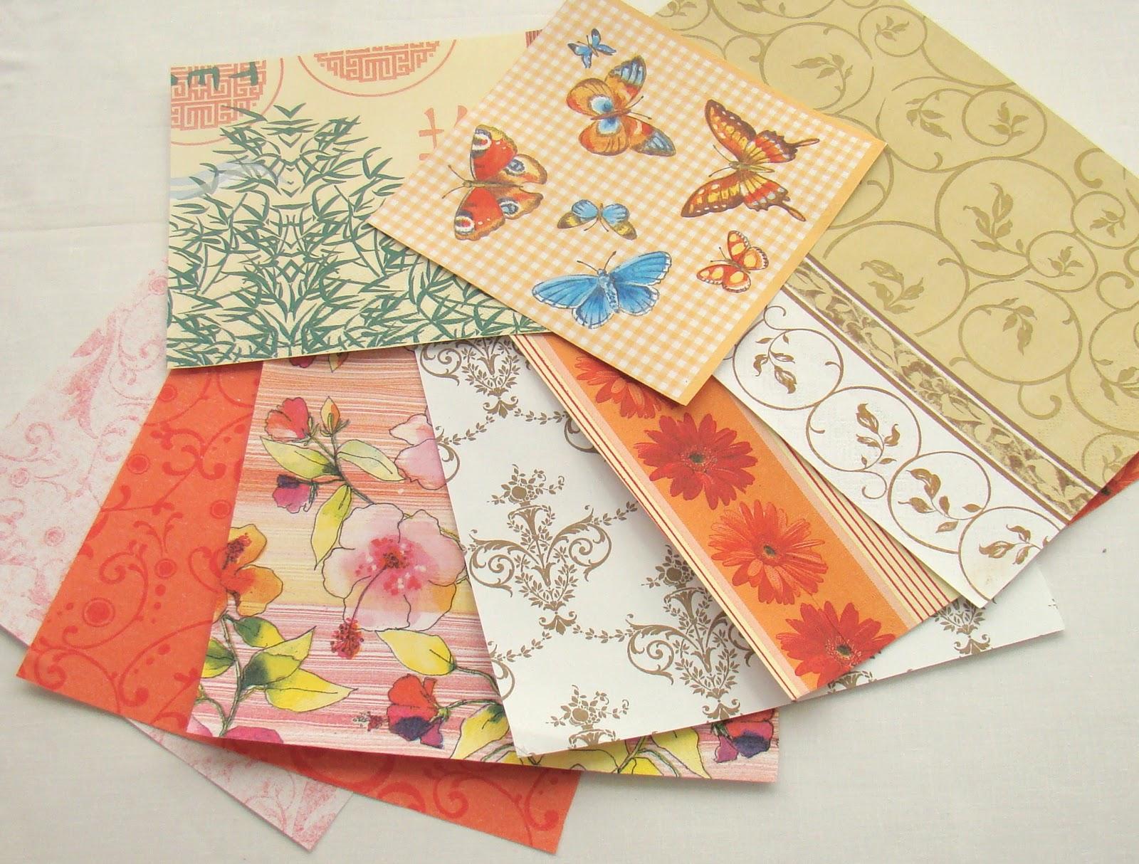 Выбираем бумагу для открыток