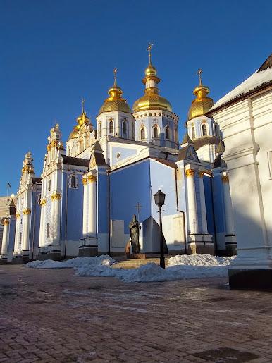 Отныне о наступлении Нового года будут извещать колокола Михайловского собора, - Порошенко - Цензор.НЕТ 8044