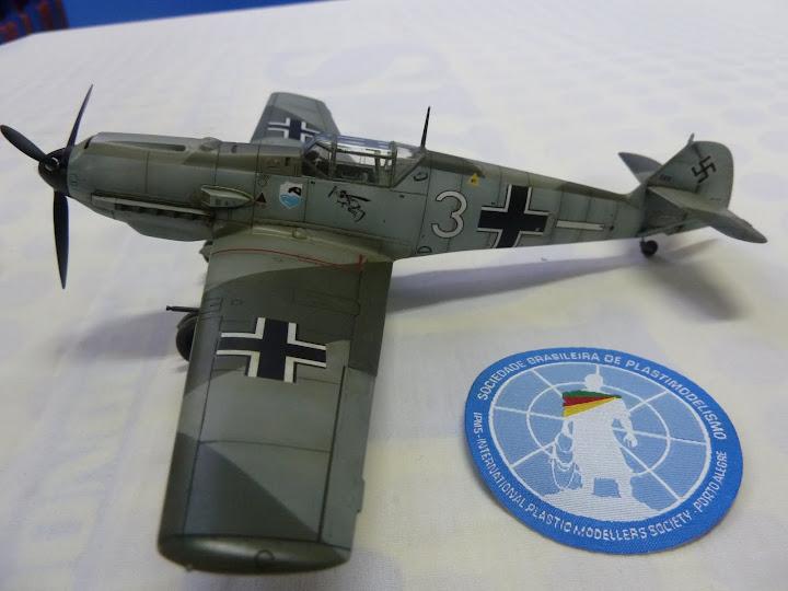 Bf-109 E-3 Tamiya 1/48 - Reforma pintura P1020655