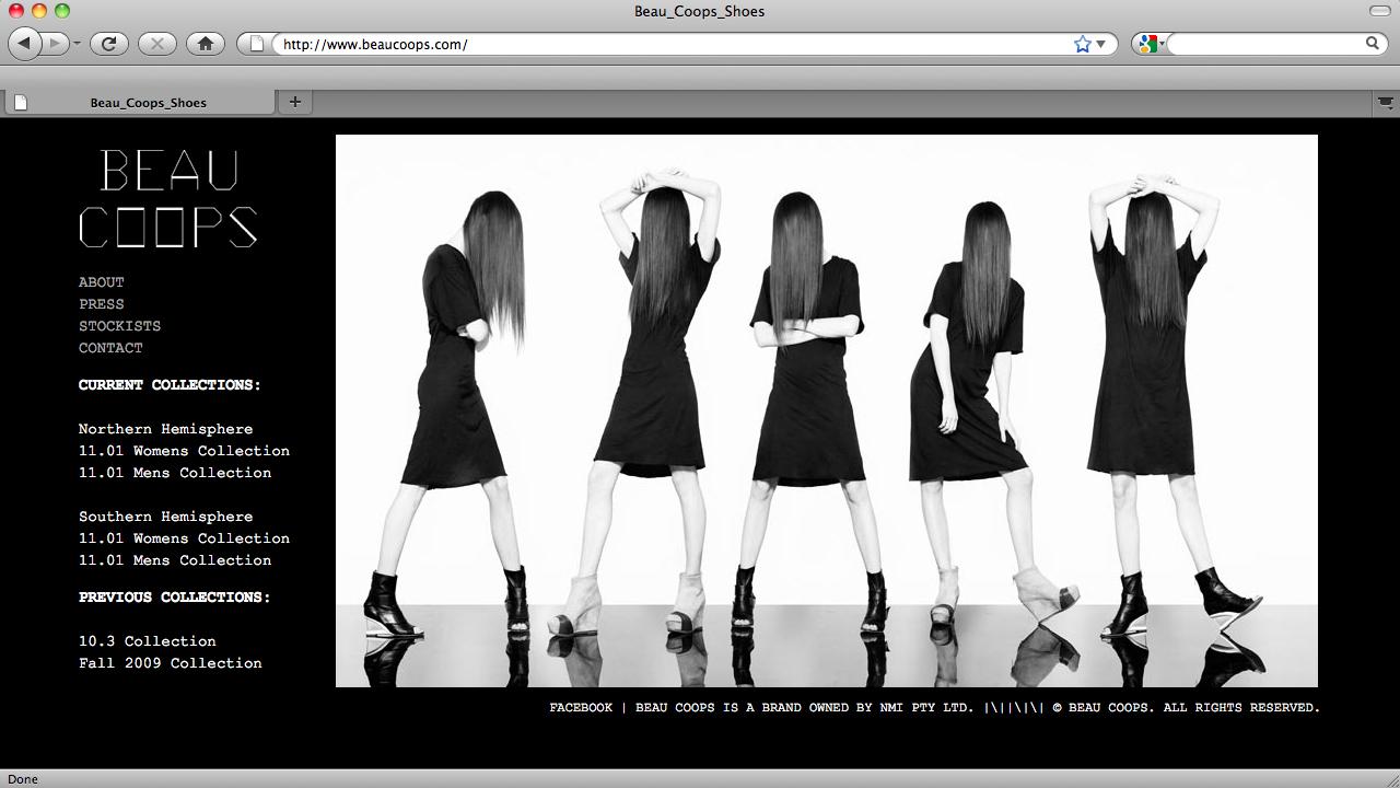 Fashion Design Portfolio Layout Viewing Gallery